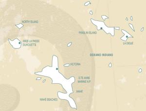 seychelles cartina