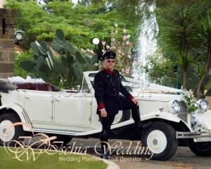 Servizio chauffeur matrimonio